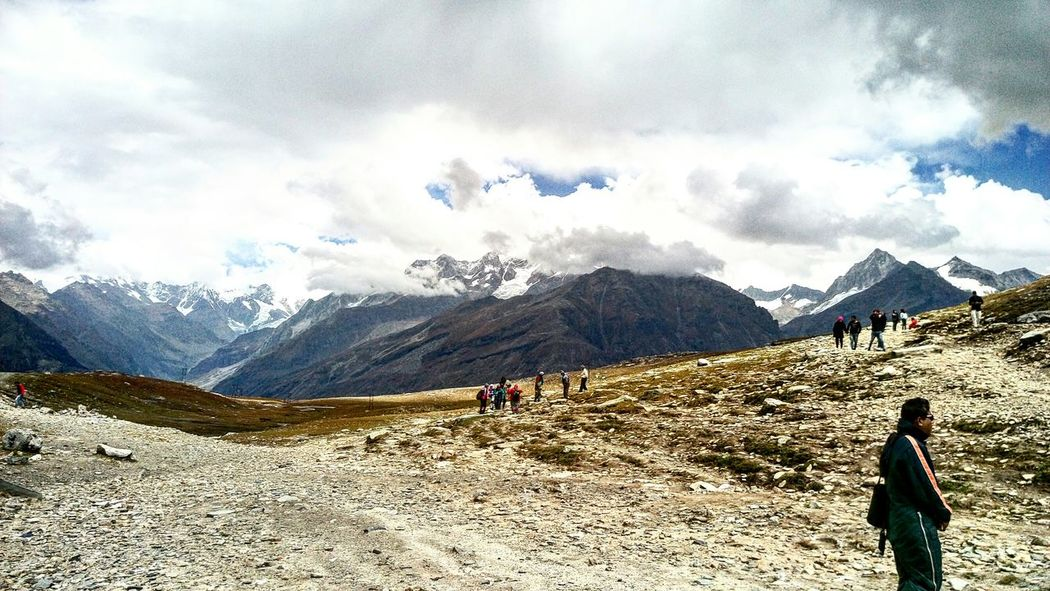 Pieceofheaven Rohtang Pass, Manali Sky Collection Sky And Clouds ✌👌•﹏•👌✌ Miles Away