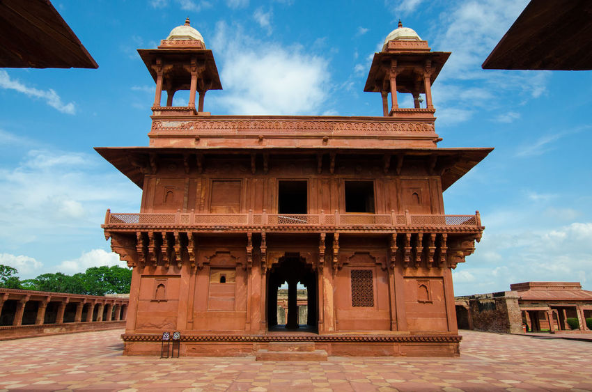 Arch Architectural Feature Architecture Bell Tower - Tower Façade Famous Place Fatehpur Sikri Fatehpursikri History In Front Of India Indian Outdoors Rajasthan Red Sky Tourism Travel UNESCO World Heritage Site UttarPradesh Vacations