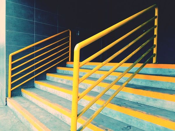 Random lines. Vscox Staircase Steps Steps And Staircases No People Outdoors Night Close-up Paint The Town Yellow The Week On EyeEm