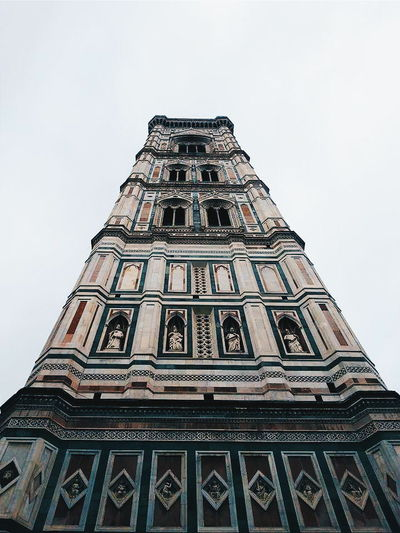 Tower Santamariadelfiore Architecture Architecture_collection Architectural Detail Renaissance Renaissance Architecture Firenze Florence Italy October2014 Beautifulcity Italianart Italianarchitecture Towers And Sky