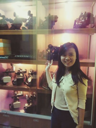 I like my profesi That's Me Enjoying Life EyemIndonesia Ekspresi LongTime  JurnalistikTV Ladydayak Borneo