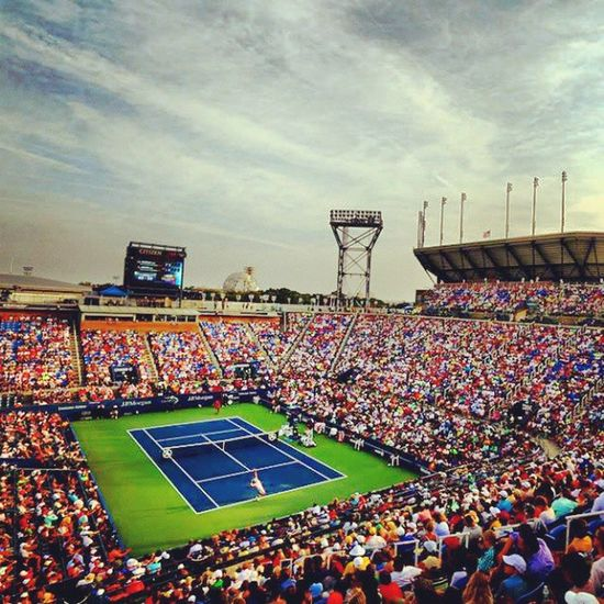 Usopen Stadioum Nadal Champion Awesome Cool