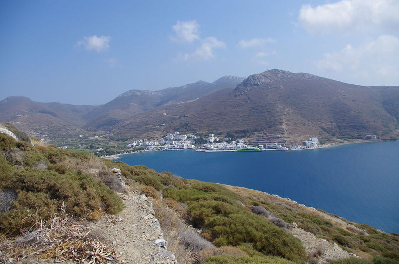 GREECE ♥♥ Griechenland Griechische Inseln Amorgos Amorgosisland Beauty In Nature Dam Day Greece High Angle View Lake Landscape Mountain Mountain Range Nature No People Outdoors Physical Geography Scenics Sky Tranquil Scene Tranquility Water