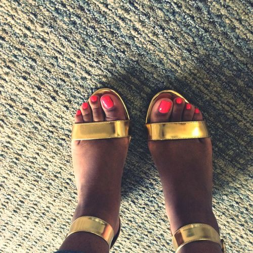 Summer Favorites: Pedicures and Sandals Jcrew Shoefie Sotd