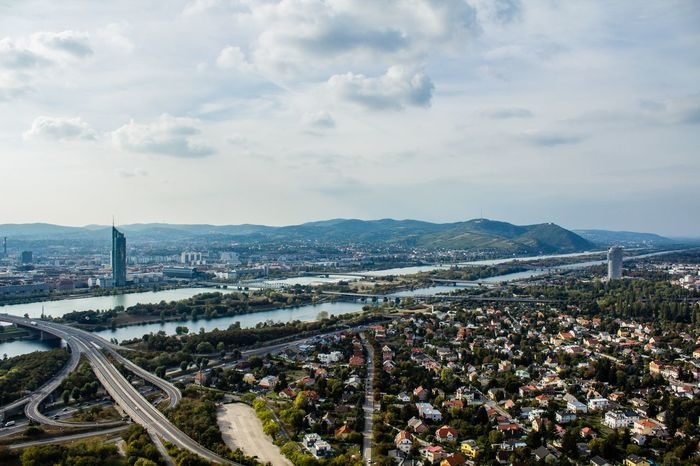 Eyeem Market Cityscapes Above The City Vienna Wien View From Above Overview Landscapes With WhiteWall