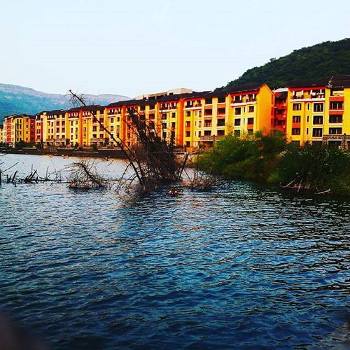 City of lake.... Lavasa Lake Lakecity Travel Instatravel MiniItaly Italy Colours Mobilephotography JD JDphotography