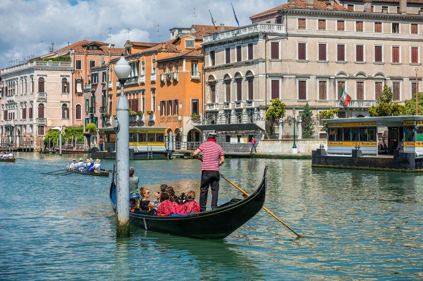 Canals of Venice Blue Sky Boats Canal Canales Canals Europe Gondel Gondola Gondolas Italia Italian Italy Tourist Travel Venecia Venedig Venezia Venice Venice, Italy Water Color Of Life