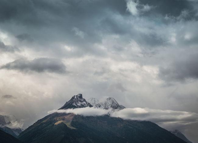 Austria Neustift Im Stubaital Stubai Alps Tirol  Beauty In Nature Cloud - Sky Grandiose Mountain Moutain Nature No People Outdoors Peak Scenics Sky Stubai Stubaialps Stubaital Tranquility
