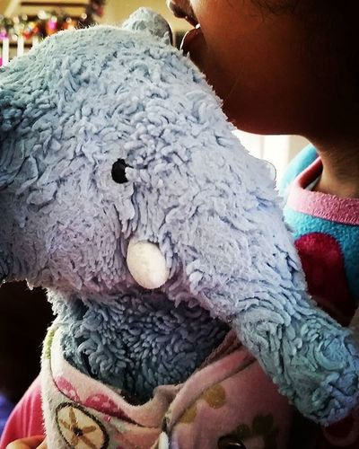There's an elephant on my lap! Bestfriends Childhood Shootyourlife Mommytweet Unforgettableinstagram Cuddles