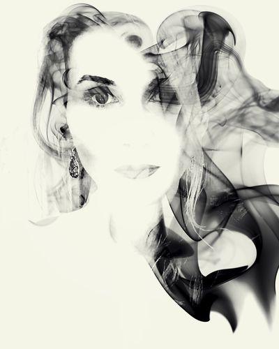 NEM Self NEM Submissions Mob Fiction Self Portrait Smoke The New Self-Portrait Double Exposure NEM Memories
