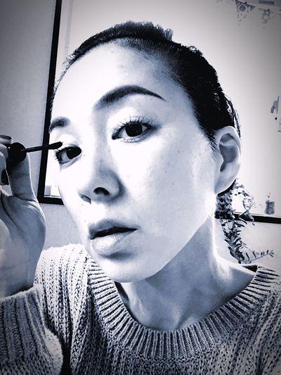 Blackandwhite Makeup Eyemakeup That's Me Taking Photos Goodmorning