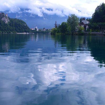 словения озеро Блед воспоминания  хочуобратно отпуск путешествия туризм Slovenia lake Blad tourism travel good mood
