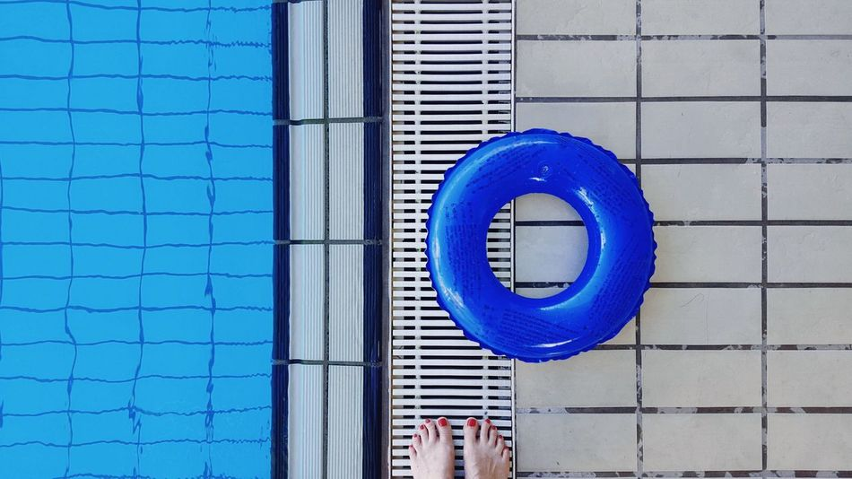 Circle Blue Day Outdoors Close-up Water Swimming Pool Swimming Loop Human Body Part Human Foot Holiday Tiles Pool Poolside Still Life Geometric Shape Forms And Shapes Sport Sports Summer Shapes And Forms Shapes Lines EyeEm Ready   AI Now Visual Creativity
