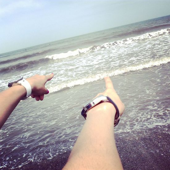 Taking Photo Summer Travel Summerfeeling Summertime Memory Of Travel 2014 With My Friend Sea Side One Day