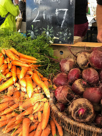 Farmers Market Abundance Carrots Choice Common Beet Day Farm Stall Food Food And Drink For Sale Freshness Healthy Eating Large Group Of Objects Market No People Outdoors Raw Food Retail  Variation Vegetable