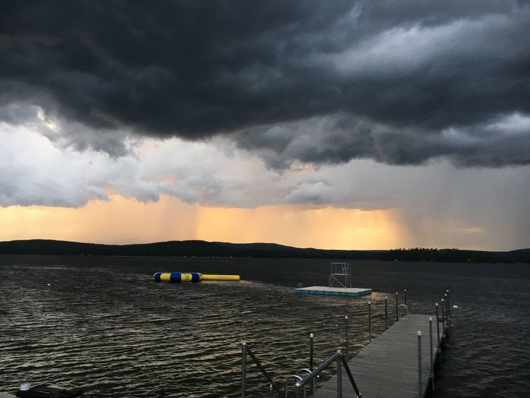SummerNights Wolfeboronh Wolfeboro Newhampshire Winnipesaukee Lakewentworth Sunset_collection Sunset Lakescape Lake Life Lake View Lakeshore Lake Lakesunset Water Reflections Wentworth Lakeside Storm Cloud Stormy Weather Storm