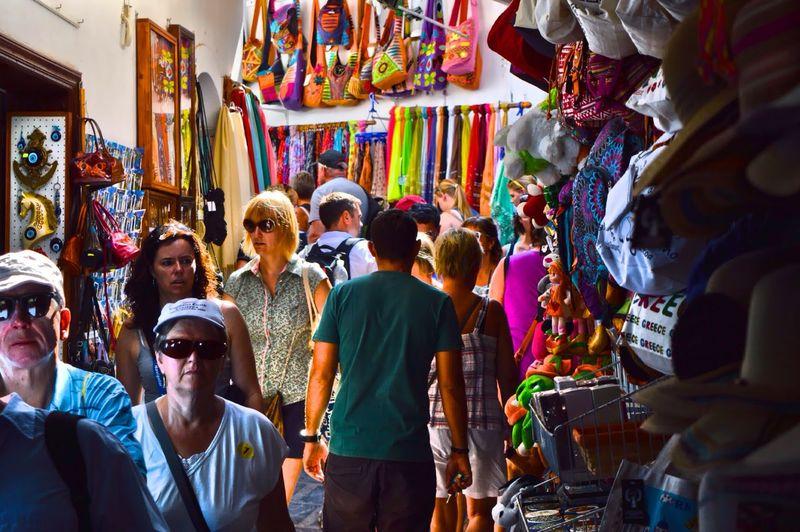 Rodhes Grecia Mercato Mercatino Shopping Relax Stradina