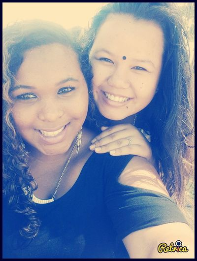 Taking Photos Friend Reunion Island Frenchgirl Metissage French Girl Smile Goodtime Enjoying Life Sun
