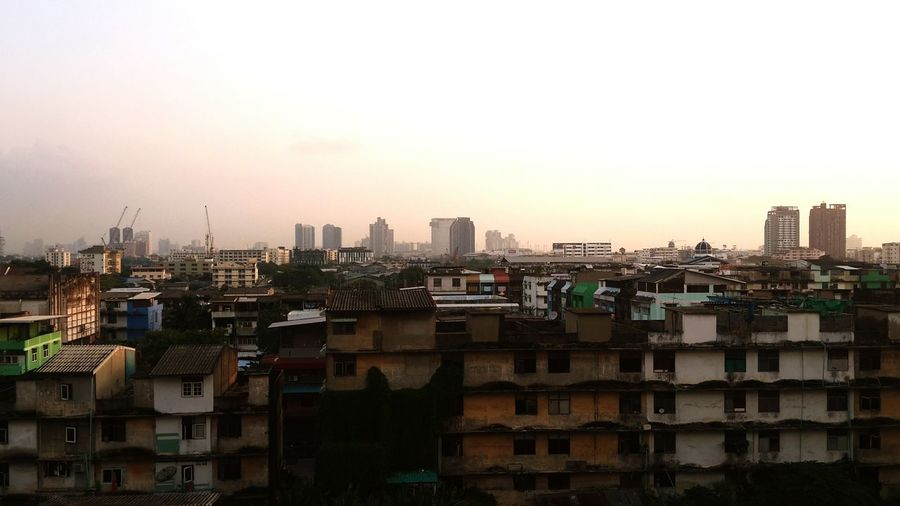 ☺ THAI LAND 😊 City Cityscape Urban Skyline Ghetto Skyscraper Sunset Downtown District City Life Sky Architecture
