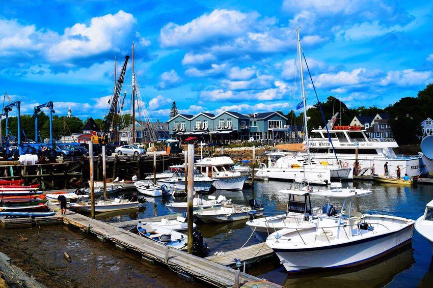 Kennebunkport Summer 2016 Kennebunkport Maine Ocean Boats First Eyeem Photo 207