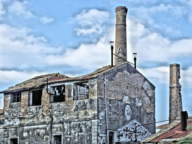 Architecture Building Exterior Built Structure Factory Old Ruin Urban Decay
