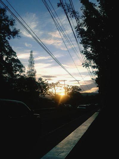 Sunset UNAH Class Honduras Sky First Eyeem Photo