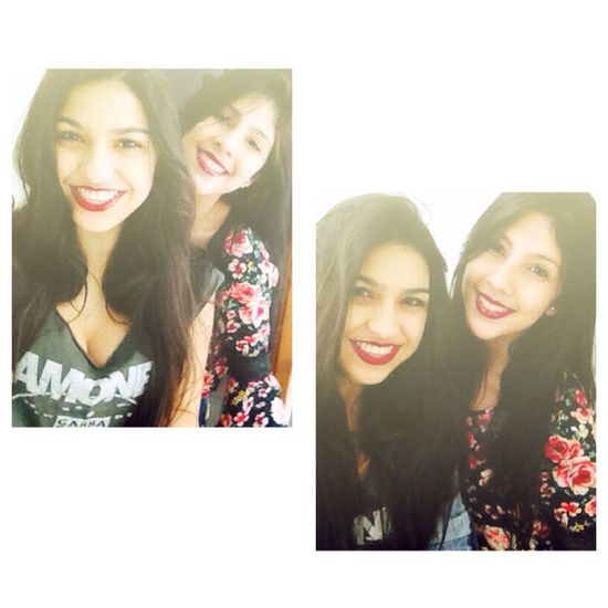 Sisters Smile Brazilian Long Hair I Smille No Matter What Love Girls Summer 👯👑❤️