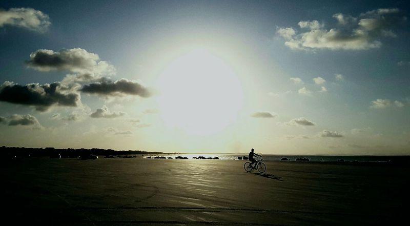 City of Salinópolis, Atalaia Beach, State of Pará, Amazon, Brazil. Beach Sky Full Length Day Outdoors Sand Adults Only