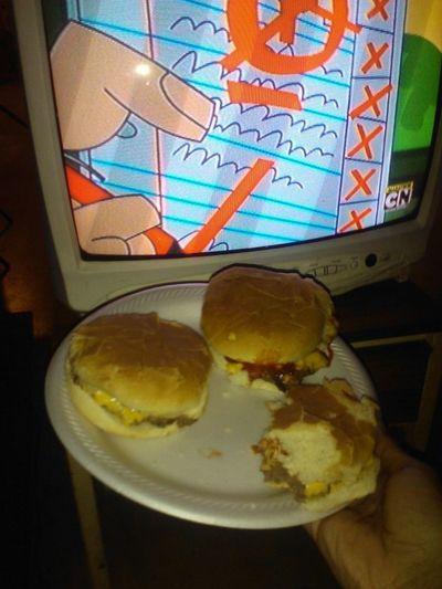 Cheeseburgers I Made & Johnny Test :)