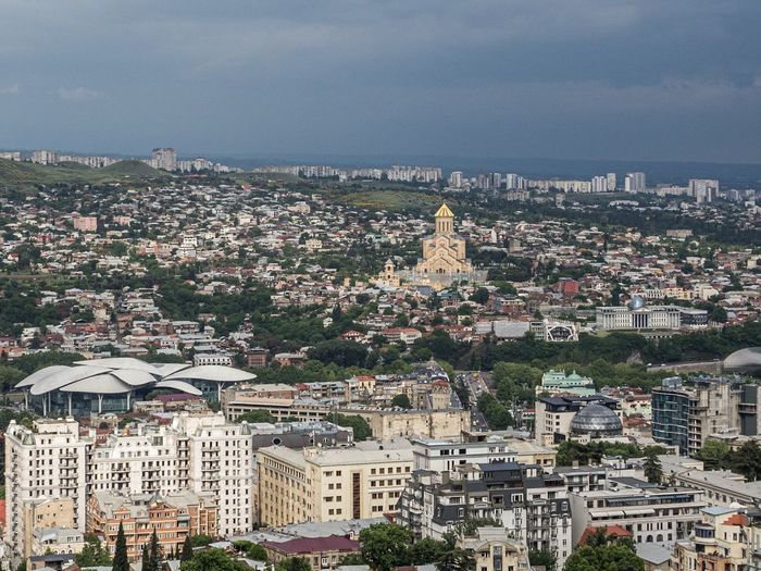 Tbilisi from