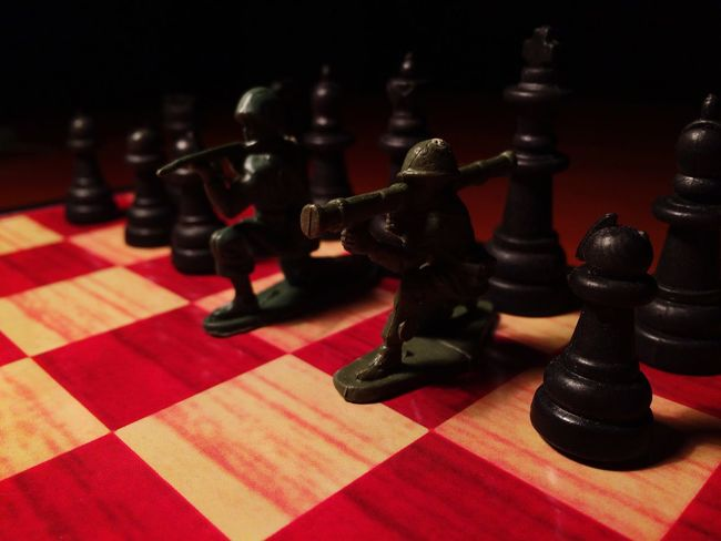 Chess Board Chess Chess Piece King - Chess Piece Leisure Games No People Close-up Queen - Chess Piece Pawn - Chess Piece War Soldiers Table Game Black & White Games Strategy Game Strategic Large Group Of Objects