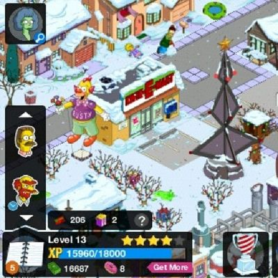 New update Simpsons tapped