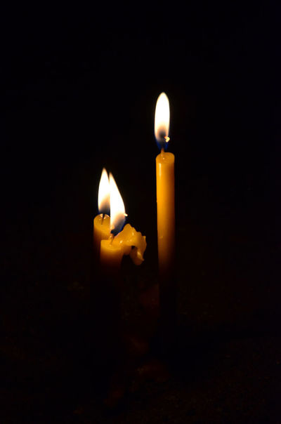 Armenia Geghard Geghard Monastery Black Background Burning Candle Close-up Dark Fire - Natural Phenomenon Flame Glowing Heat - Temperature Illuminated Indoors  Night No People Oriental Orthodox Church Religion Travel Destinations W-armenien