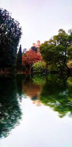 Castle Chateaux Château Nature Sonyxperia Photography Water Reflection Tree Sky Reflections Maple Benimellal Lake Landscape Maroc Paysage Morocco Hills Mountain Hill Mountains Ancient Winter Scratch