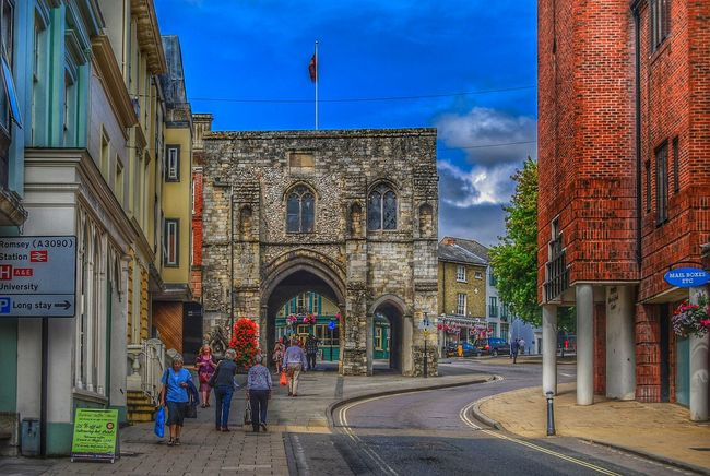 Taking Photos Winchester Streetphotography HDR Collection