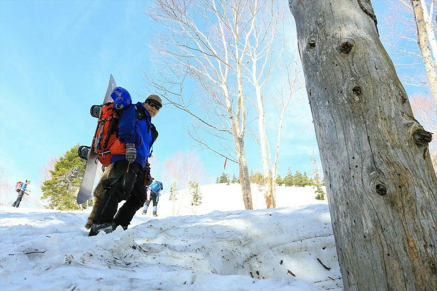 久々アップ(;^ω^)スノボ背負って尾瀬で初BC(*´罒`*) That's Me Snowboarding Backcountry Japan Nature Mountains Landscape ~カメログまたここで~