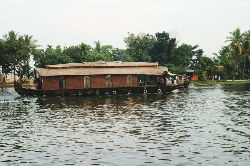 Water Transportation Backwaters Of Kerala Boat Lake House Boat
