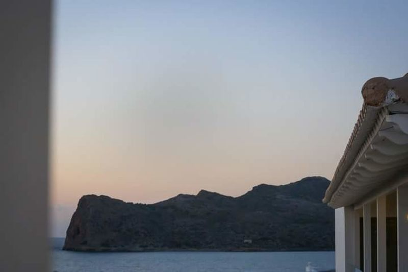 The night when I decided to be my best friend Vastness Relaxing Time Ocean View Buildings & Sky Architectural Detail Evening Sky Me And My Camera Check This Out Evening Light Architecture Greece Crete Chania