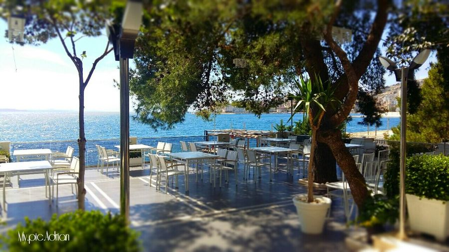 In Sarandë, Albanian 🇦🇱 Water Tree Outdoors Tranquility Nature No People Sea Day Nautical Vessel Scenics Beauty In Nature Sky