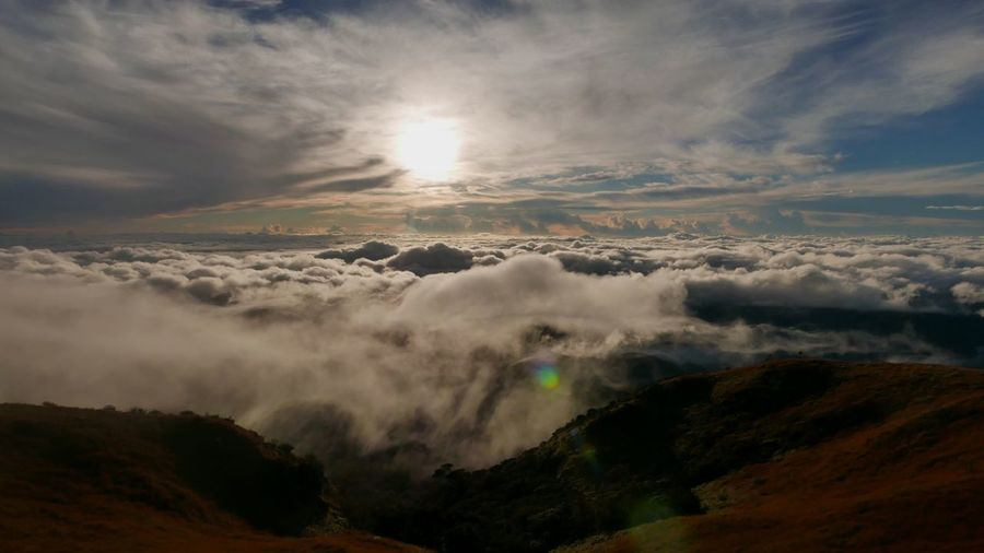 Mt. Pulag Sea Of ​​clouds Hiking Benguet Philippines