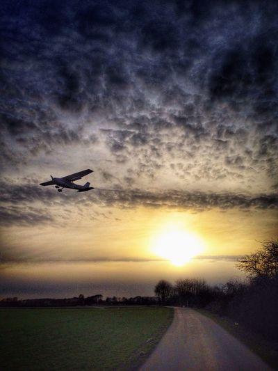 Plane over me