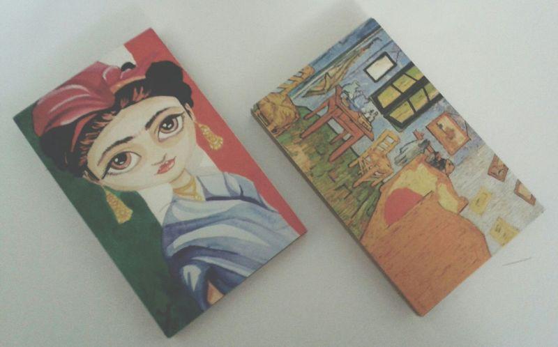 Magnet Frida Frida Kahlo VincentVanGogh Art Vangoghart VSCO Vscogrid Vscocam Vscoturkey