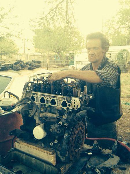 Engine Car Texas Work