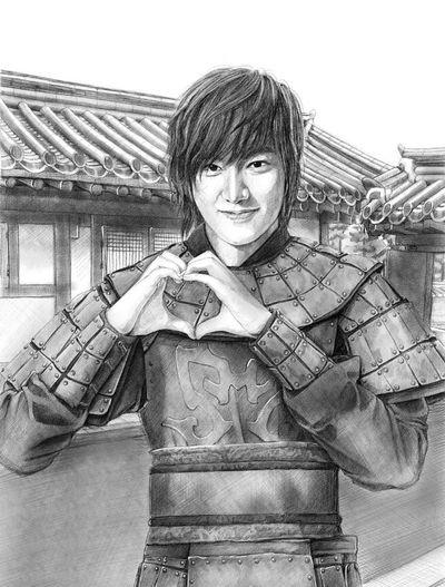 Drawing Leeminho My Drowing