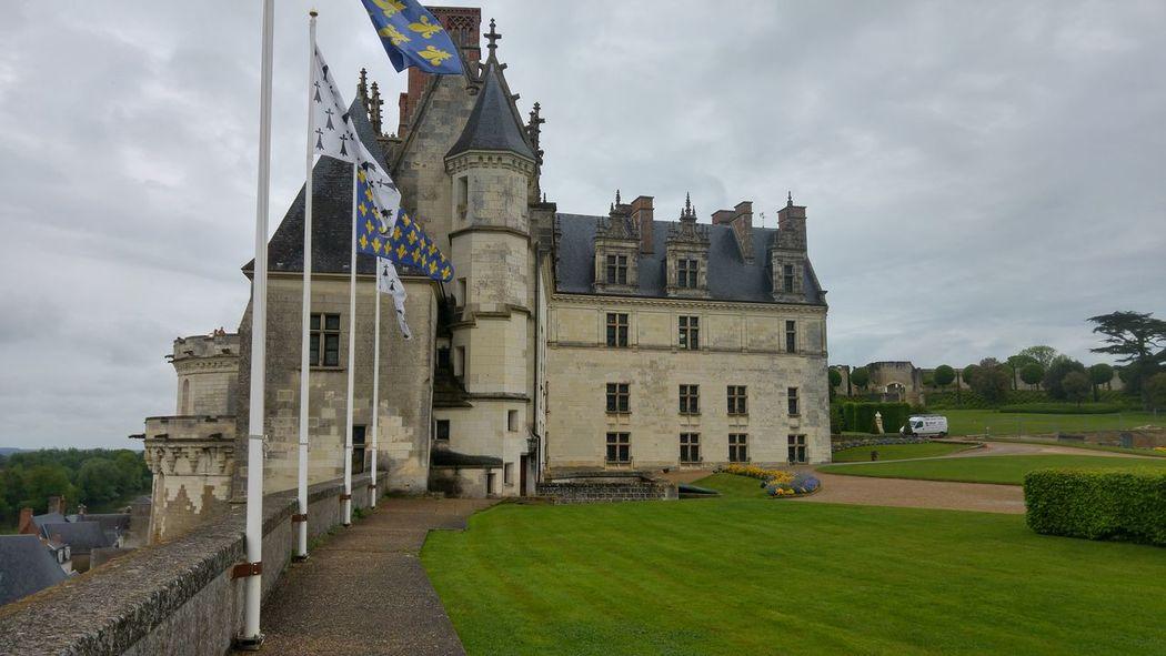 Heritage Building Unesco Amboise Architecturelovers Castle Castle View  UNESCO World Heritage Site Renaissance Oldstone Exterior View Royauté King's Castle Building Exterior Chateaux De La Loire