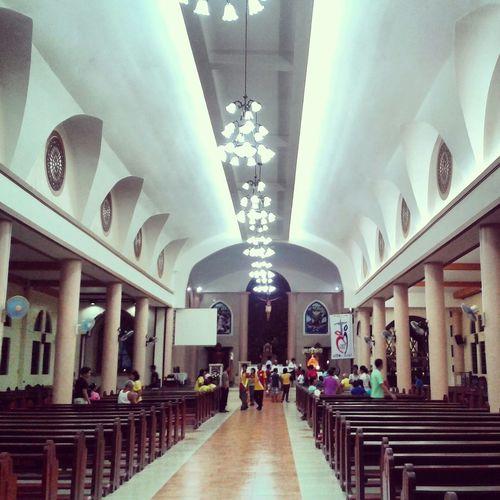 Our church: ) Praying