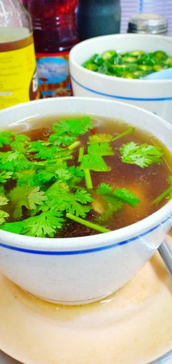China Food แกงจืด ซุปไก่ Chinese Food Drink Drinking Glass Close-up Soup Vegetable Soup