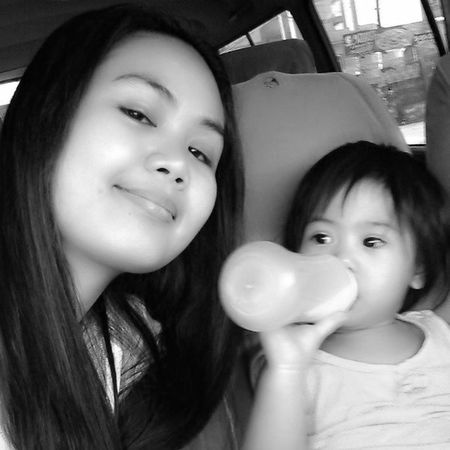 with my one and only girl.. :) missyou anak! Mother & Daughter ♥