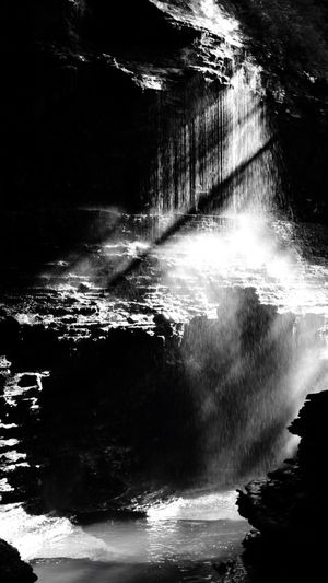 Falling Water Wave Nature Power In Nature Motion Sea Reflection Beauty In Nature Outdoors No People Waterfront Sunlight Day Waterfall Scenics Crash Blackandwhite Rochester, NY The Week On EyeEm Popular Newyork