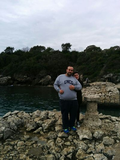 Our little piece of paradise ♥ Together Love Nature Sea Formia Smile Paradise